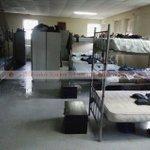 Rains drench police barracks