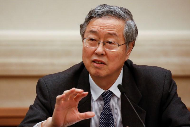China central bank Governor Zhou says likely to retire soon