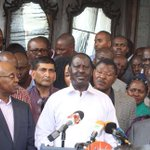 My ordeal with police at Wanjigi's house – Raila