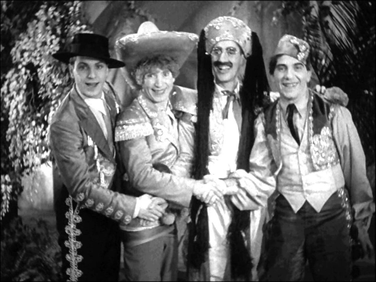 #Groucho :Get away from that tree before it dies. #Cocoanuts 1929 #MarxBrothers . https://t.co/Gc2HDKMEh8