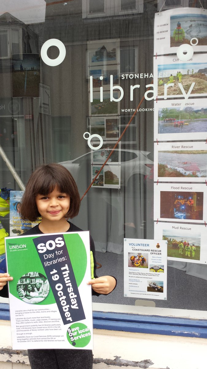 RT @annmcevy: Demi's tour of Aberdeenshire libraries supporting UNISON #SOSlibraries Stonehaven https://t.co/jBE85szVjU