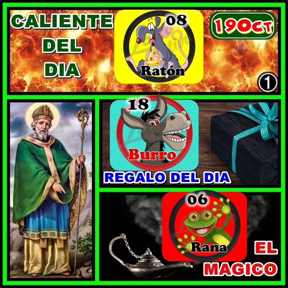 RT @HIPICOPICKS: #LottoActivo #RuletaActiva #Jueves #19Oct Datos De San Patricio. https://t.co/ZuXcZFT9OI