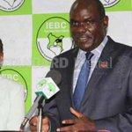 Chebukati blames politicians for Akombe's resignation
