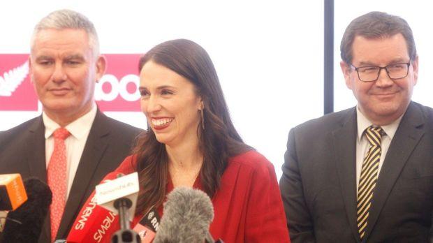 Labour leader Jacinda Ardern, 37, becomes New Zealand Prime Minister