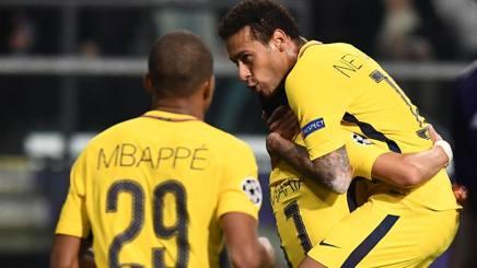Champions ranking: Psg davanti. Juve tra Roma e Napoli. Carrera: chapeau