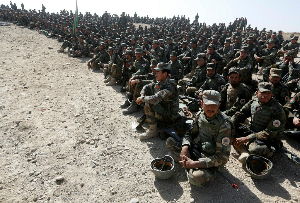 Taliban attack kills dozens, decimates Afghan army camp