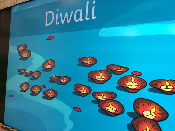 RT @misspotterskidz: Writing about Diwali traditions and colouring Rangoli patterns! https://t.co/SVYfvQCxnF