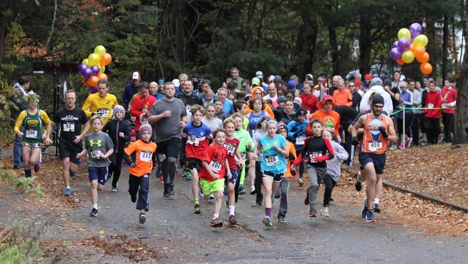 Celebrate Halloween with a road race, haunted house, or concert