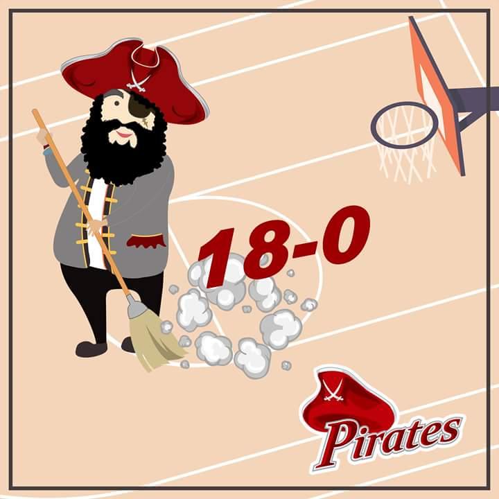 RT @LPUManila: 2OT FINAL 107-105: Taking the Lead and still the undefeated team of #NCAASeason93 #VivaVivaPirata https://t.co/fpU8Nlz6w4