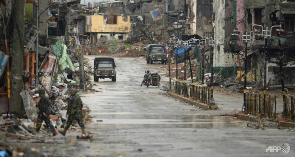 City destroyed in Philippines' longest urban war
