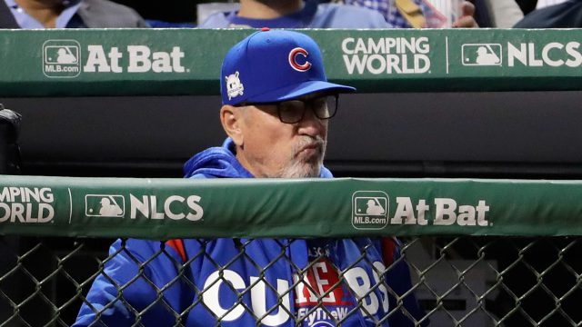 Cubs Manager Joe Maddon Ejected For Second Time InNLCS