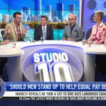 DAILY DILEMMA: Should Men Stand Up For Equal Pay For Women? | Studio 10