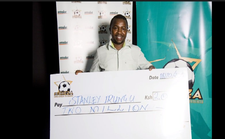 Real estate agent walks away with mCHEZA jackpot