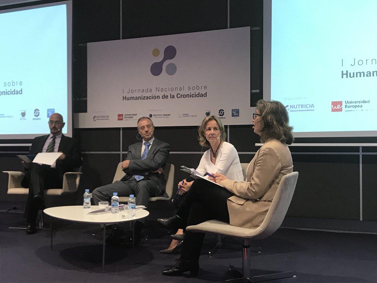 test Twitter Media - Natalia Roldán participando en la Mesa Redonda sobre Humanización de la Cronicidad #JORHC2017 #cronicidad #calidad https://t.co/ITDjQymEBu