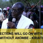 Elections will go on with or without Akombe - Kiraitu