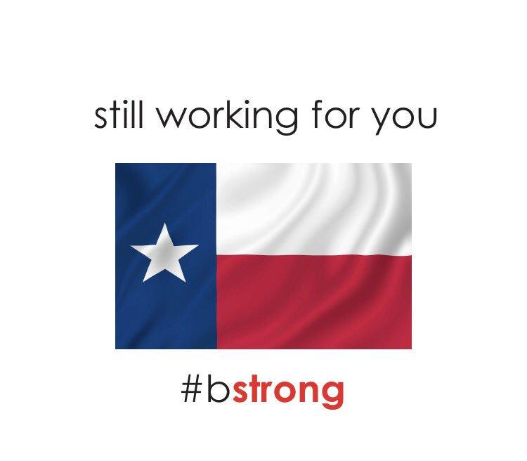 #BStrong #100percent #thisisacrisis Donate at https://t.co/tDmlCa4TWD https://t.co/bTpUm8dhuI