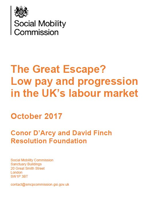 test Twitter Media - Catch up read - The Great Escape? Low pay and progression in the UK's labour market, by @conortdarcy & @davidfinchRF https://t.co/E87SQK4Vim https://t.co/rK2p0SWcj1