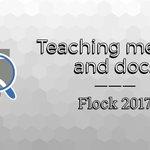 Fedora Community Blog: Teaching metrics and contributor docs at Flock 2017