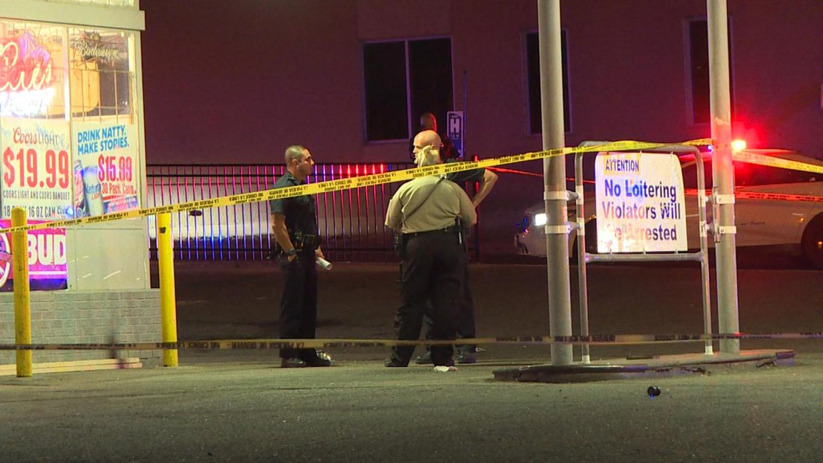 Multiple Victims In Drive-By Shooting Outside LiquorStore