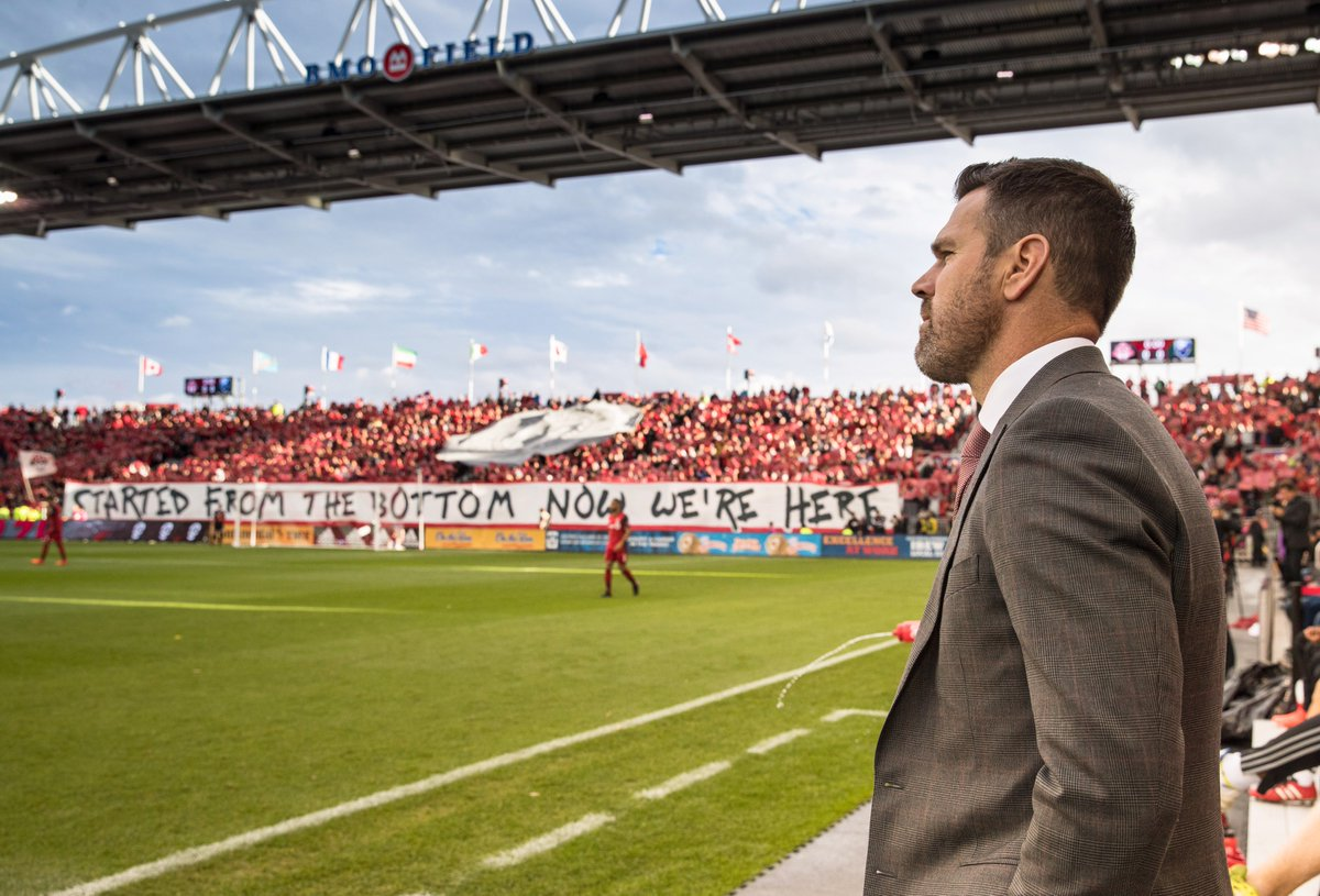 Head coach Greg Vanney looks ahead to #DecisionDay and talks all-time MLS points record  📽: https://t.co/LrS488kt99  #TFCLive | #ATLvTOR https://t.co/di4ZaehNhR