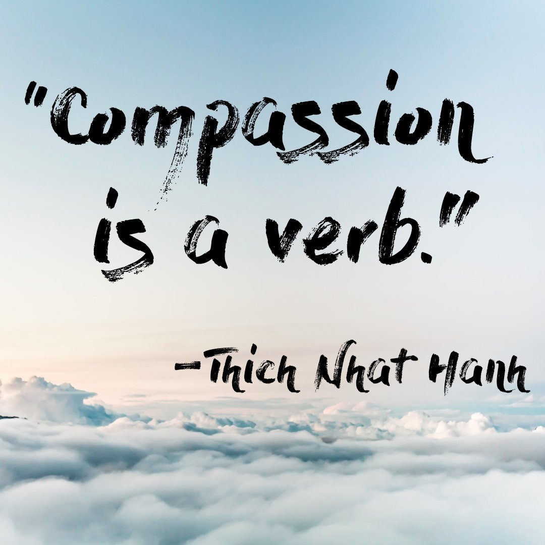 RT @TheCharter: Compassion is not just a feeling – it's an action! #thichnhathanh https://t.co/gXwLY8hVEA