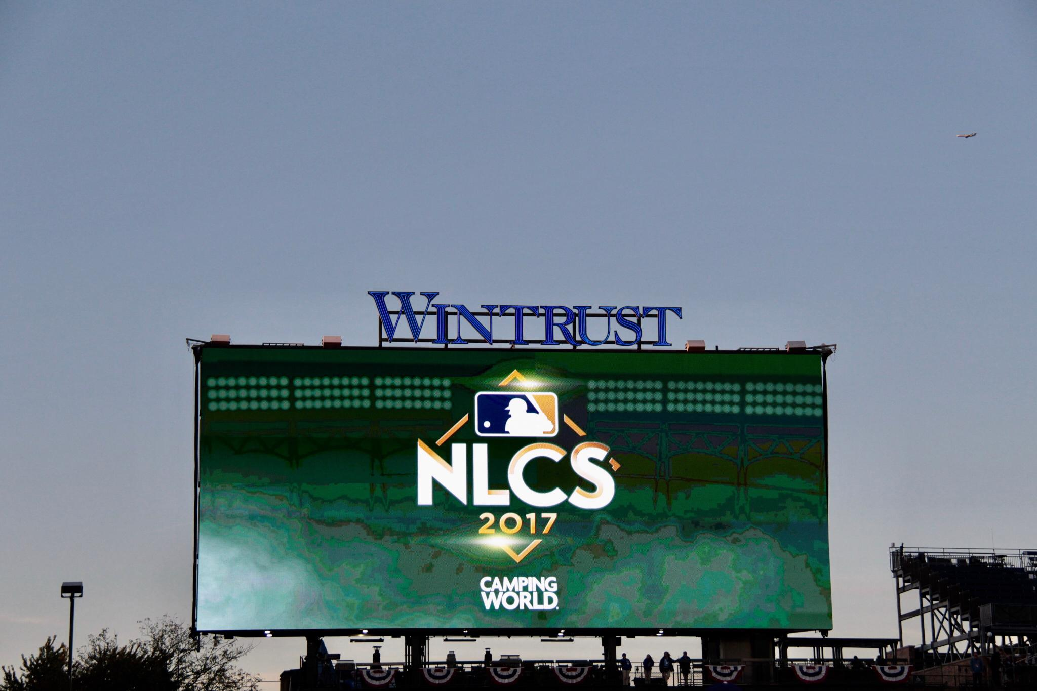 RT this by 1 p.m. CDT for your chance to win tickets to tonight's NLCS Game 5 at #WrigleyField! https://t.co/CXRKoaM00l