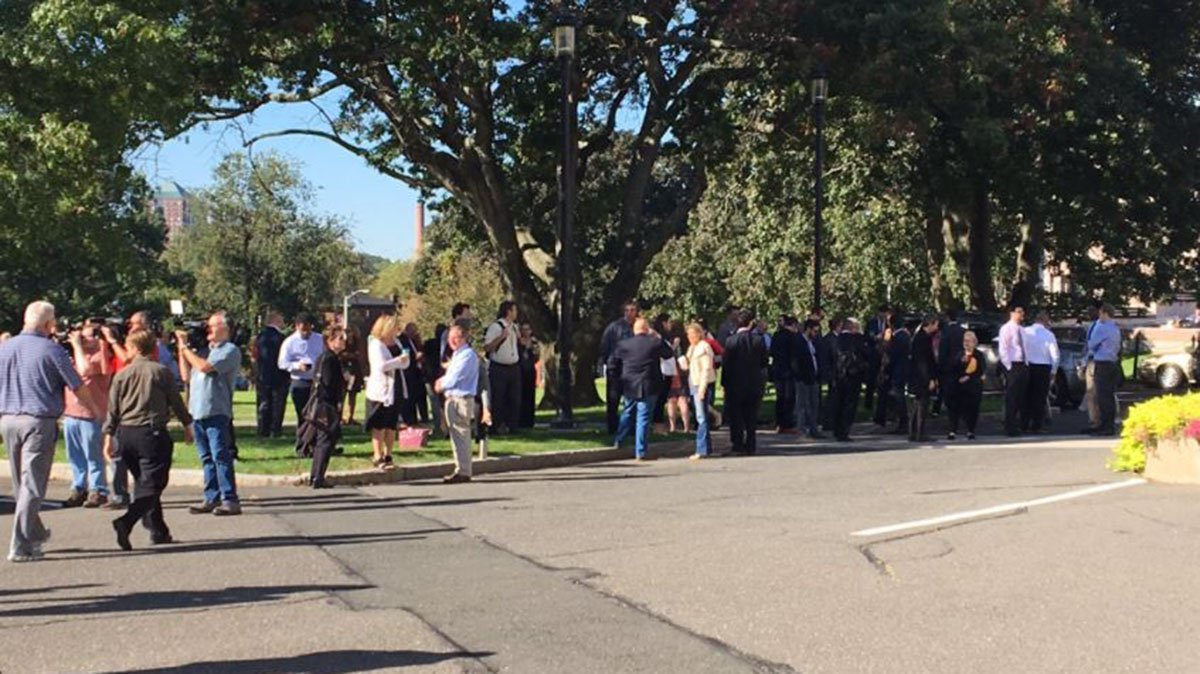 State Capitol Evacuated After Fire Alarm Went Off