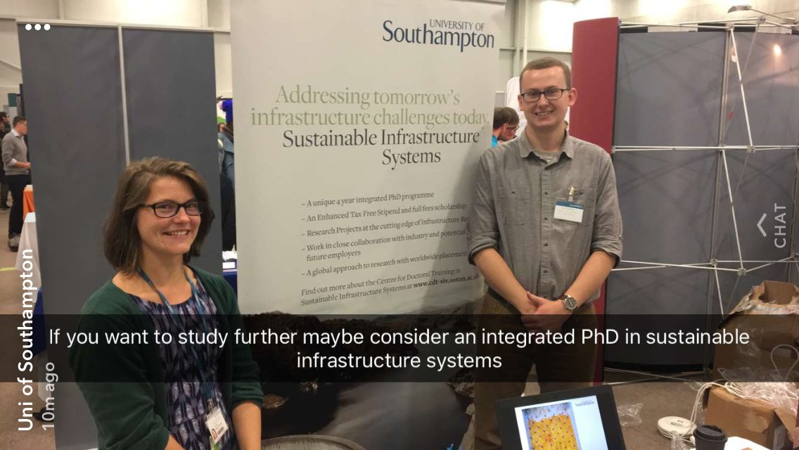 test Twitter Media - We were on the @unisouthampton snapchat at the All Sectors Fair today! #CDTSIS https://t.co/etHW05jApV
