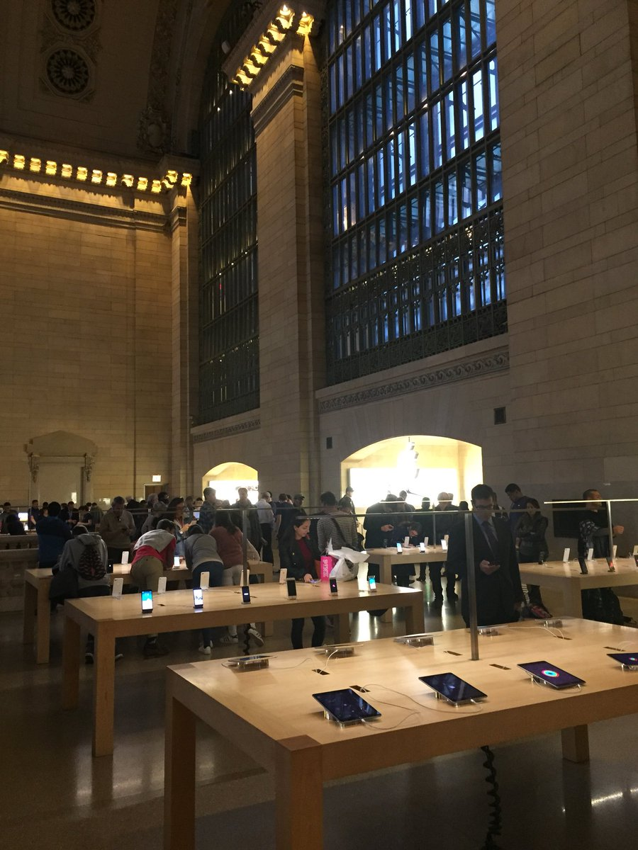 And what a place for an AppleStore!
