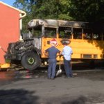 School bus reportedly catches fire in east Charlotte - | WBTV Charlotte