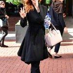 Suits star Sarah Rafferty enjoys five-star trip to Dublin to celebrate her birthday