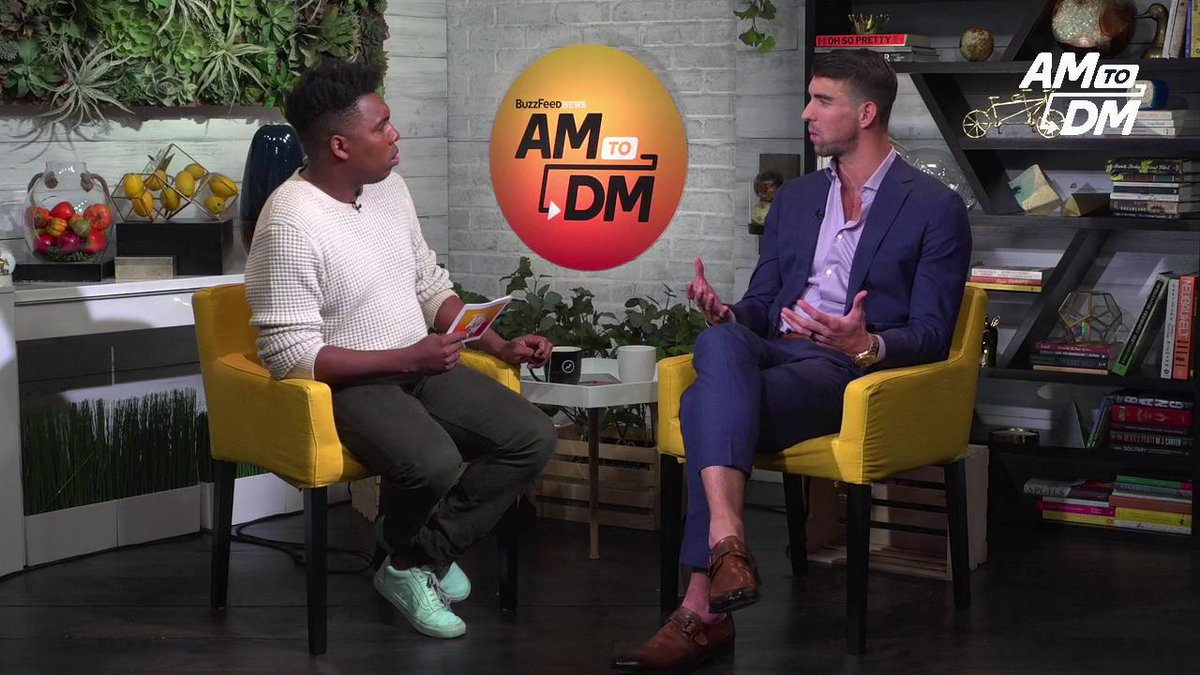 RT @BuzzFeedNews: Water is a big part of @MichaelPhelps' life. He tells #AM2DM how he's fighting to save it. https://t.co/CUfY99XIxp