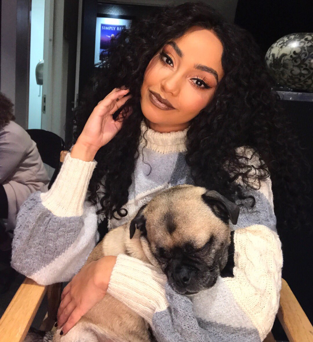 A lil old man at heart.. ����❤️ x Leigh https://t.co/K08ygpcgFQ