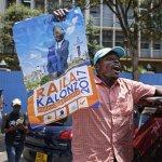 Kenya police disperse demonstrators  despite court order