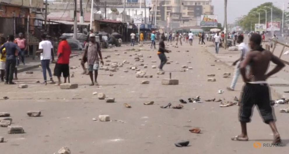 Togo forces fire on protesters, seven wounded
