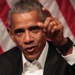 Ex-presidente dos EUA Barack Obama volta à arena política