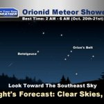 Weather Blog: How To View The Orionid Meteor Shower