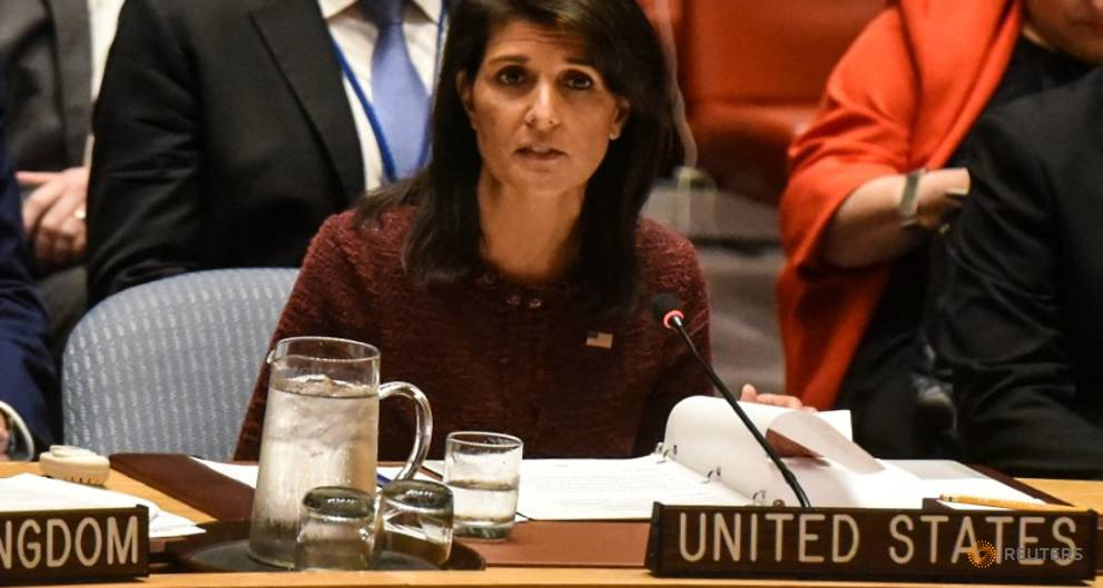 US envoy Haley - Russia interference in elections is 'warfare'