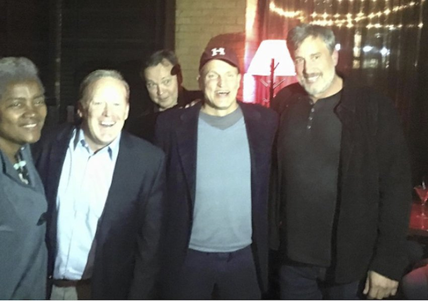 Sean Spicer hung out with an interesting group of celebrities at Harvard