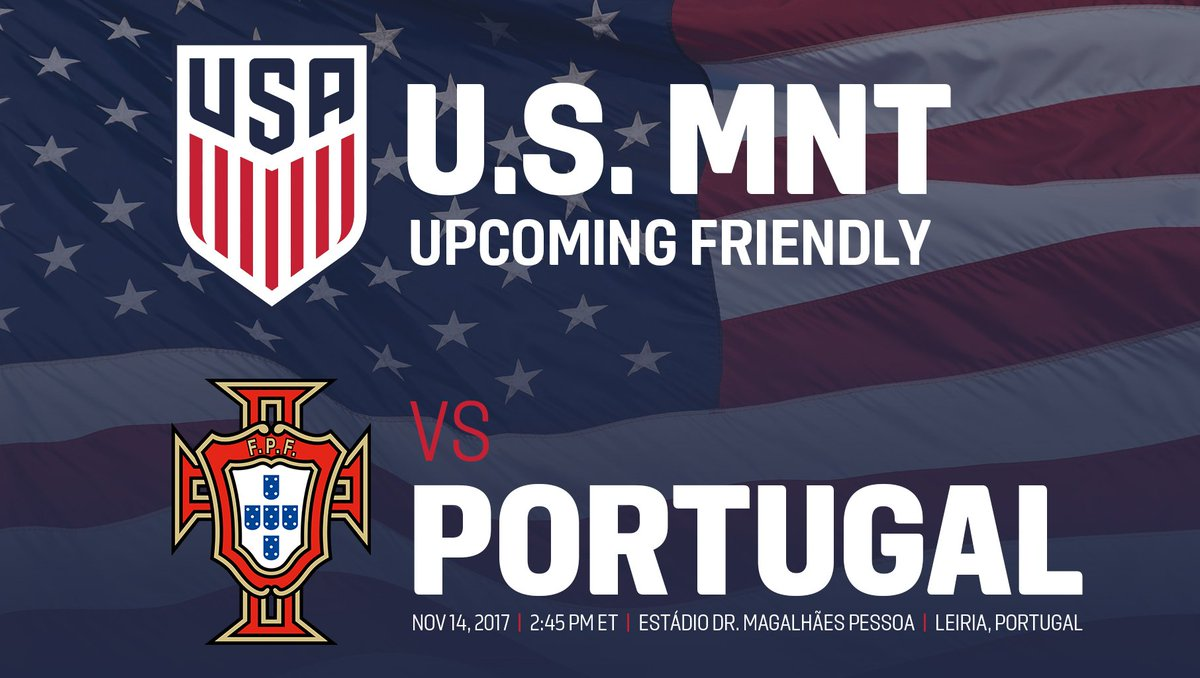 RT @ussoccer: NEWS: The #USMNT's Nov. 14 friendly at Portugal will now be played in Leiria: https://t.co/kISfG5LykK https://t.co/cWnptTYd3i