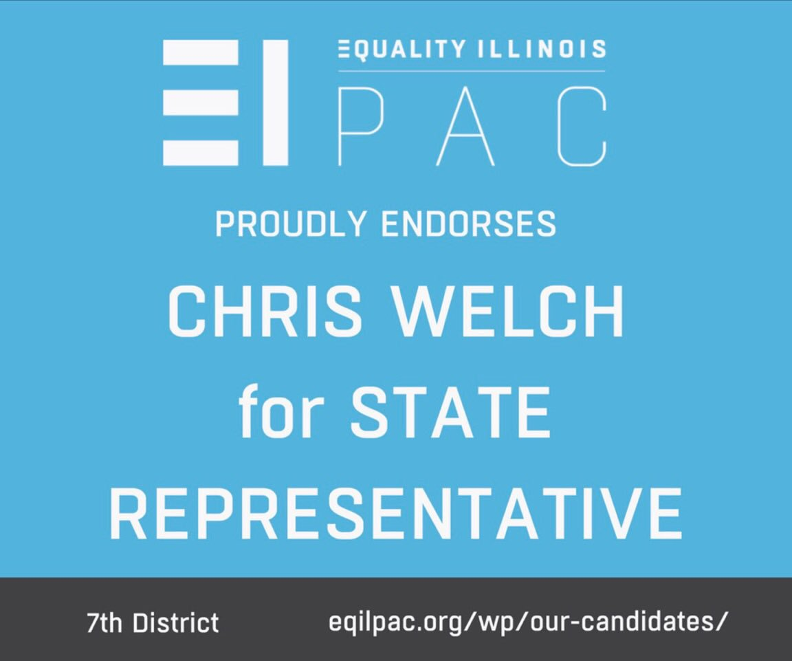 test Twitter Media - Truly honored to be endorsed by Equality Illinois for standing up for justice and equality as a member of the Illinois General Assembly! https://t.co/pOYQlFmg0g