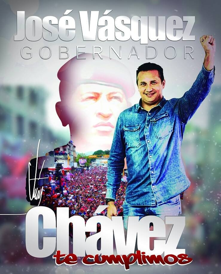SibciGuarico: #ConJoséVásquezGanamosTodos José Vásquez GOBERNADOR #FelizJueves #19Oct https://t.co/H3ingAeidY