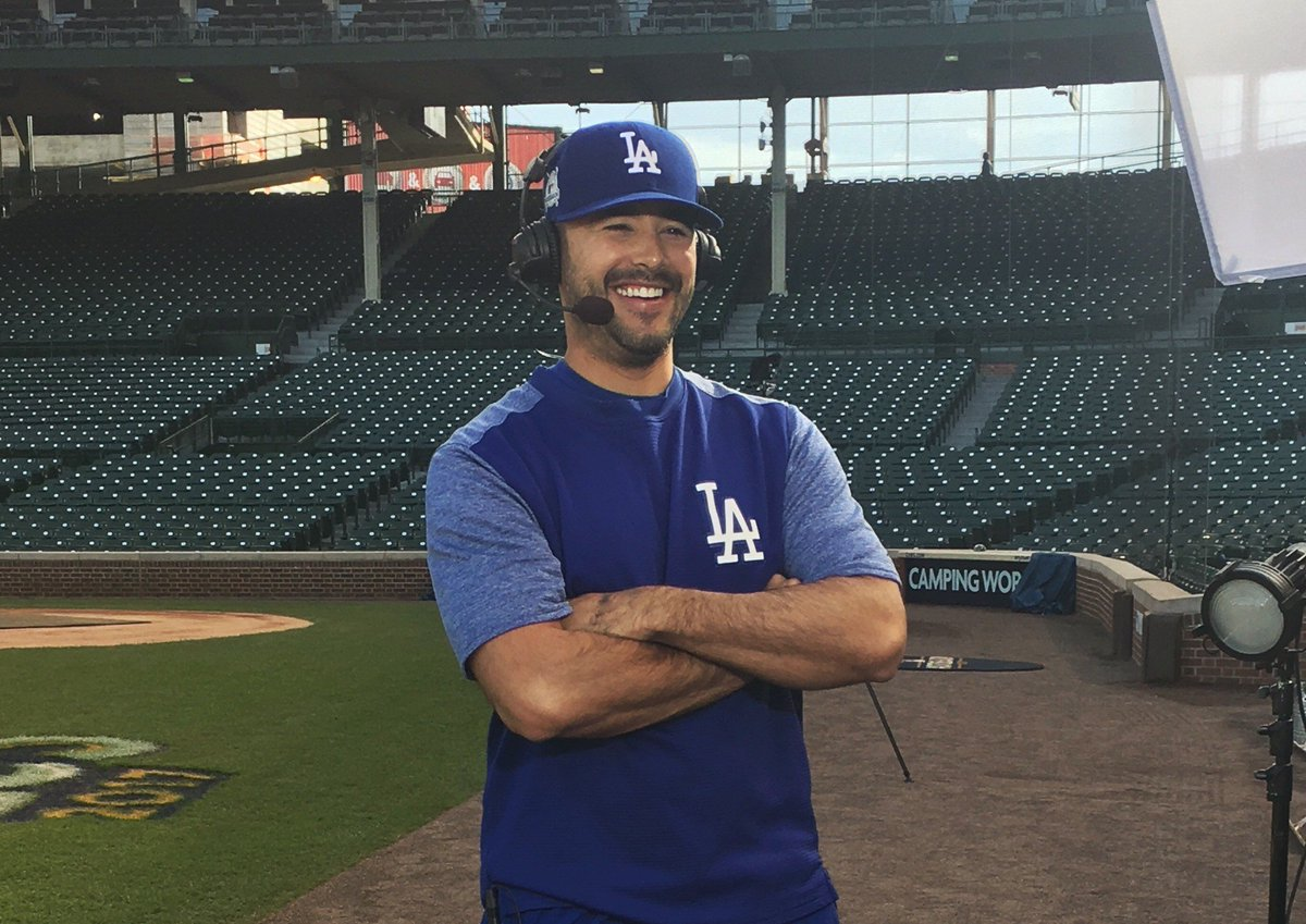 Andre Ethier is coming up next! #ITMojo #ThisTeam https://t.co/L5PowrTBJI