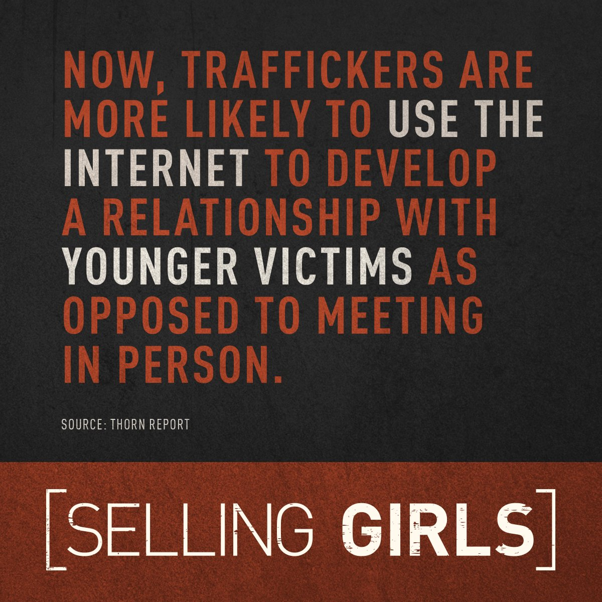 Selling Girls | Sex traffickers are targeting American children