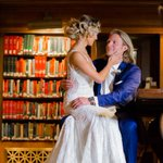 This Boston TV personality just tied the knot in the BPL courtyard