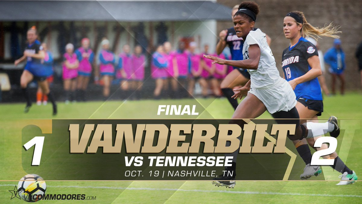 RT @Vandysocr: Final in Nashville!!! Commodores knock off #11 Tennessee for the second straight season!! #AnchorDown https://t.co/0NF58Ikhkf