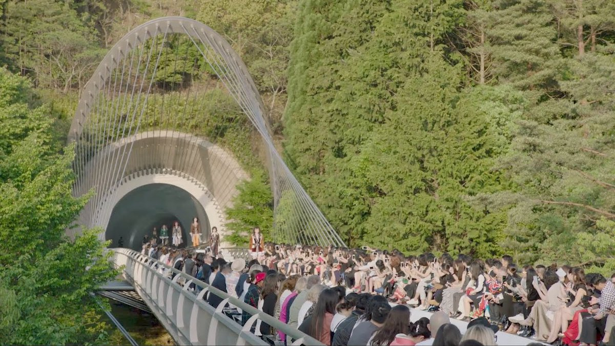 Louis Vuitton Cruise Show in the Miho Museum in Japan