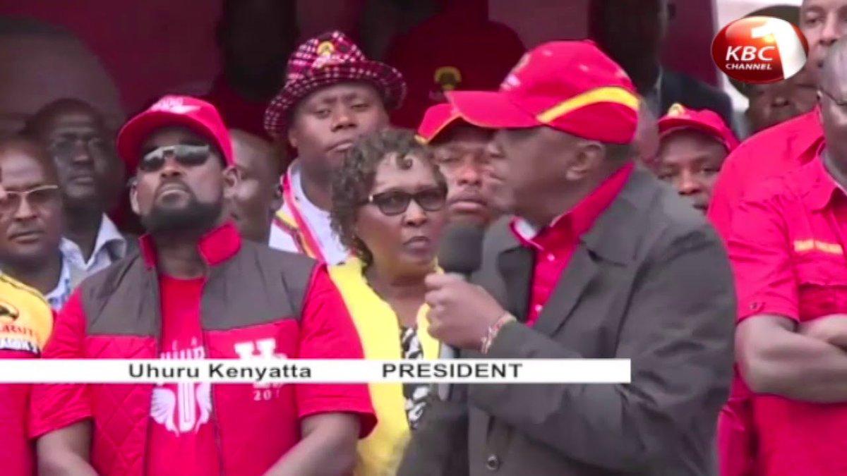 President Uhuru Kenyatta maintains that the repeat polls will proceed