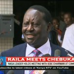 Raila; I do not need anything from William Ruto or Jubilee