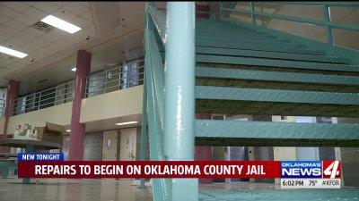 Oklahoma County Jail undergoes renovations to improvesafety